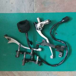 Honda phantom parts. Mainly throttle n clutch levers. All for $2.90. Self pickup