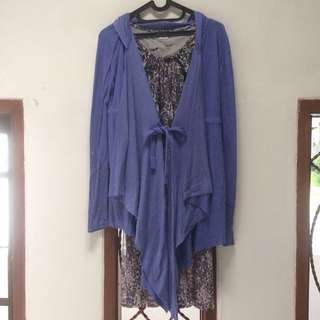 Repriced Purple set!! Babydoll + Outer