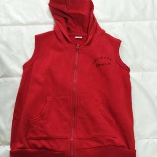 Kids sleeveless hoodie
