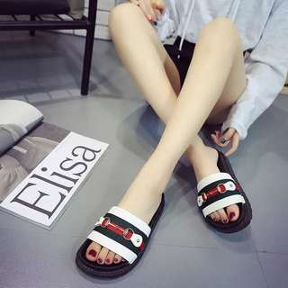 (35~40) Summer Korean fashion slippers sandals flip flops sandals