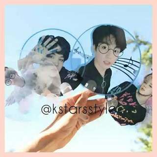 531 BTS TRANSPARENT FAN