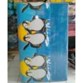 kasur busa lipat jumbo ukuran 140x180x8 motif pinguin