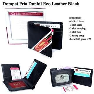 Grosir Dompet Pria Dunhil Eco Leather Black