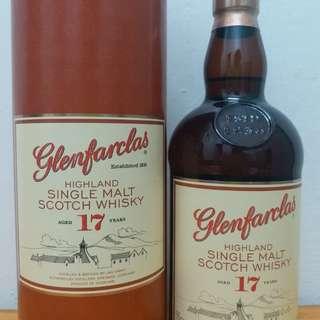 Glenfarclas 格蘭花格 17y  700ml whisky 威士忌