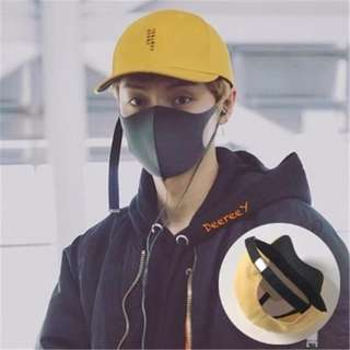 [INSTOCKS] Luhan Inspired Unisex Yellow Baseball Cap