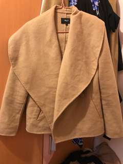 40.3% wool jacket in Camel colour from G2000 warm and stylish