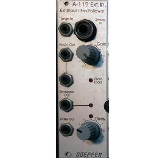 Eurorack Modular Synth - Doepfer A-119 External Input / Envelope Follower