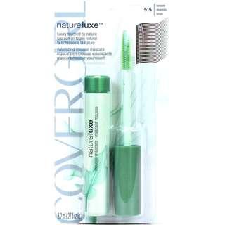 NEW COVERGIRL NatureLuxe Volumizing Mousse Mascara-515 Brown