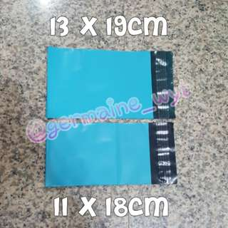 Mini XS Teal Polymailers