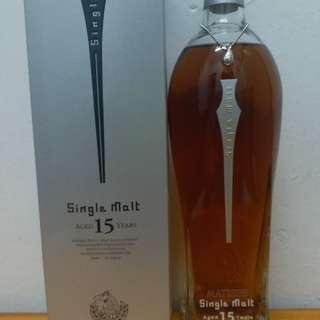 馬諦氏 15y 700ml whisky 威士忌