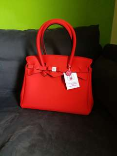 全新Save my bag~ Miss(red)