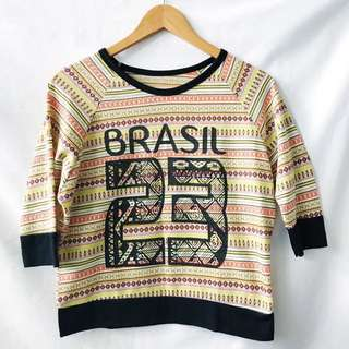 Aztec 3/4 sweater