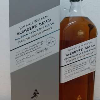 Johnnie Walker Blenders,batch no.2 1L whisky 威士忌