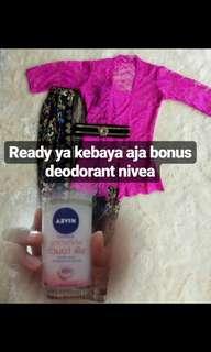 Kebaya bonus doedorant