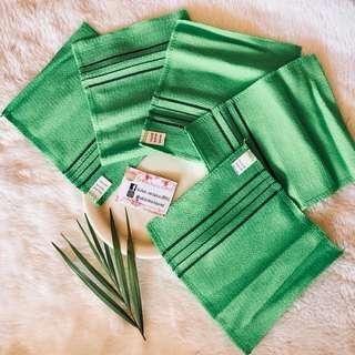 Korean exfoliating towels