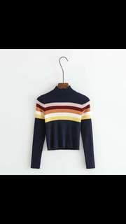 (PO) pull and bear AA knit sweater top