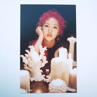 Red Velvet-Wendy 4x6 photo