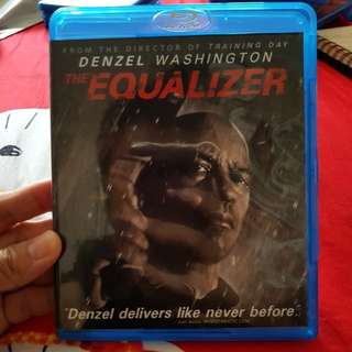 Used The Equalizer bluray