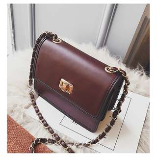 Vintage Wine shoulder bag