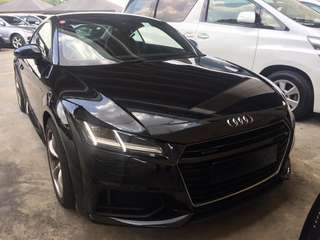 Audi TT 2.0 TFSI S-Line Quattro 2015 New Facelift New Model Unregister