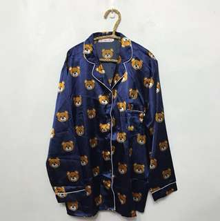 熊熊整套睡衣(上衣+褲子)