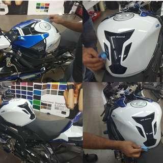 Motorbike Glass Coating