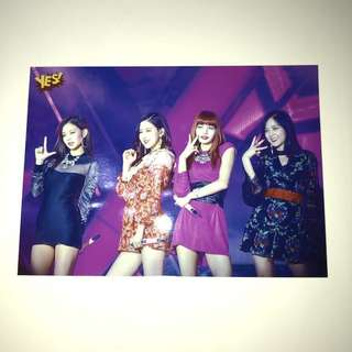 Blackpink Yes! card 精品 5R相