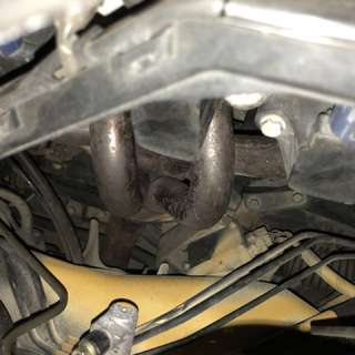 Mugen jasma header & bpipe spoon no tag for honda jazz gd