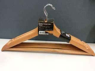100% New - 木衣架  Wooden Hanger