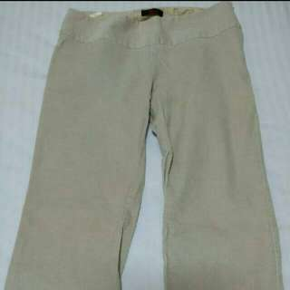 Pants Bootcut Design Sand Colour Made In Australia Size Medium Please Ask For Measurements Thank You