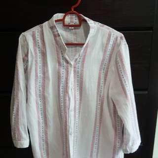 White design blouse