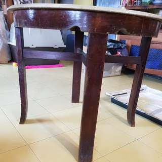 60th very old coffee table 柚木桌