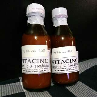 """Vitamin Penambah Nafsu Makan """"Vitacino"""""""
