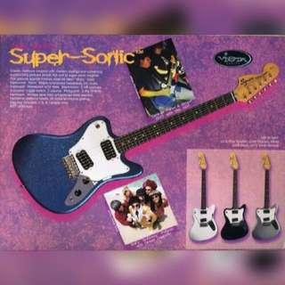 Looking / Want to buy Squier Super Sonic