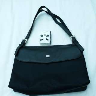 Leather Columbus ocean bag
