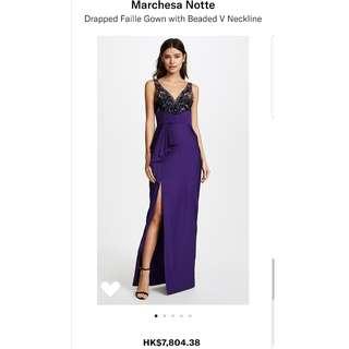 Marchesa Notte Gown US size 6