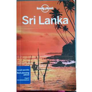 Lonely planet Sri Lanka (13th edition)