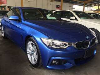 2014BMW 420i 2.0 Twin Turbo Engine New Facelift Unregister