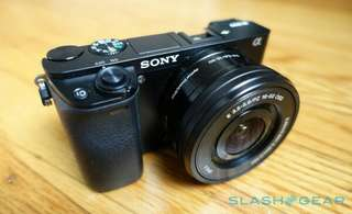 Sony A6000 Kit 16-50mm Kredit Kamera Mirrorless
