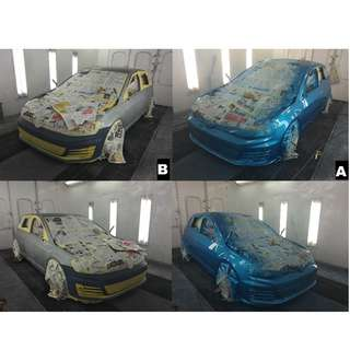 Whole Car Spray Painting