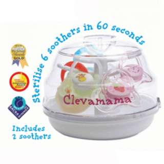 Clevamama Soother Tree Steriliser Packaging Box Damaged (Condition: 9/10)