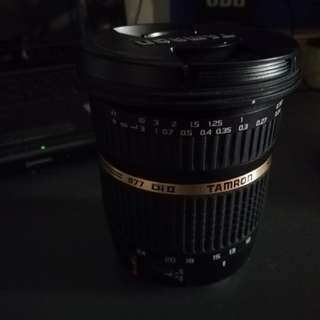 Tamron 10-24mm dii SP (Canon mount)