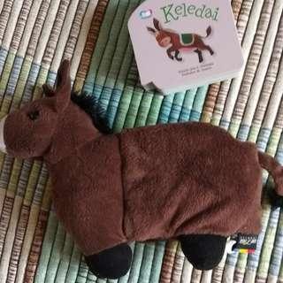 Puppet Book - keledai