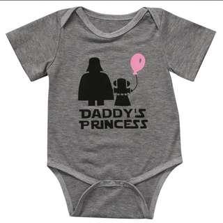 Daddy's Princess Romper Bodysuit