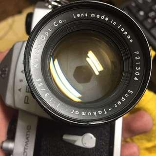 鏡頭 單眼相機 Pentax 55mm f1.8