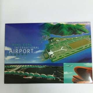 香港國際機場郵票