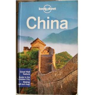 Lonely planet China (14th edition)