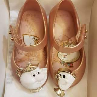 Mini Melissa Beauty & the Beast Shoes