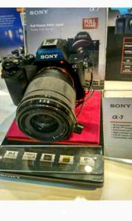 Kredit Sony A7 + 50mm F1.8
