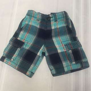 6pockets checkered short